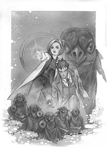 [Doctor Who Comics #1 (Forbidden Planet Exclusive Momoko Virgin Variant) (Product Image)]