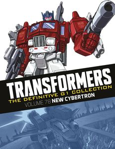 [Transformers: Definitive G1 Collection: Volume 67: New Cybertron (Product Image)]
