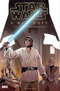 [Star Wars: A New Hope: 40th Anniversary (Hardcover) (Product Image)]