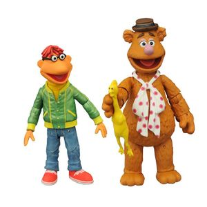 [Muppets: Series 1 Select Action Figure Set: Fozzie & Scooter (Product Image)]