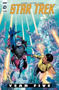[Star Trek: Year Five #10 (Cover A Thompson) (Product Image)]