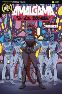 [The cover for Amalgama: Space Zombie #7 (Cover A Young)]