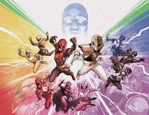 [Mighty Morphin Power Rangers #50 (Foil Wraparound Variant) (Product Image)]