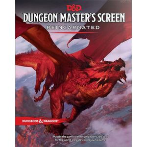 [Dungeons & Dragons: Dungeon Master's Screen: Reincarnated (Product Image)]