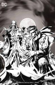 [Batman Vs Ras Al Ghul #1 (Black & White Variant Edition) (Product Image)]