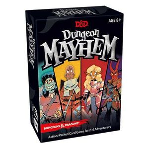 [Dungeons & Dragons: Dungeon Mayhem Card Game (Product Image)]