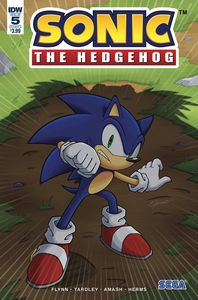 [Sonic The Hedgehog #5 (Cover A Peppers) (Product Image)]