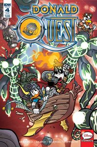 [Donald Quest #4 (Subscription Variant) (Product Image)]