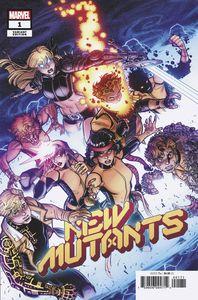[New Mutants #1 (Bradshaw Variant DX) (Product Image)]
