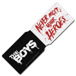 [The Boys: Travel Pass Holder: Never Meet Your Heroes (Product Image)]