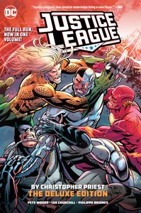 [Justice League By Christopher Priest: Deluxe Edition (Hardcover) (Product Image)]