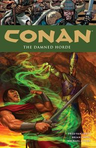 [Conan: Volume 18: Damned Horde (Product Image)]