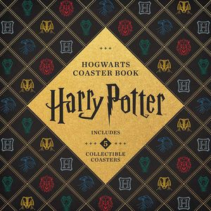 [Harry Potter: Hogwarts Coaster Book (Hardcover) (Product Image)]