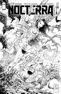 [Nocterra #3 (Cover D Daniel Black & White Variant) (Product Image)]