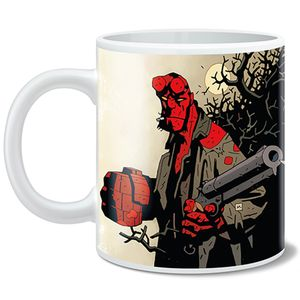 [Hellboy: Mug: Smokin' By Mike Mignola (Product Image)]