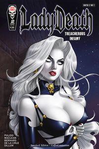 [Lady Death: Treacherous Infamy #2 (Cover A Richard Ortiz) (Product Image)]