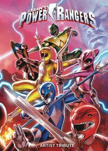 [Power Rangers: Artist Tribute (Hardcover) (Product Image)]