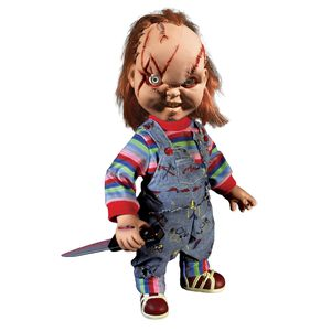 [Child's Play: Action Figure: Scarred Face Chucky (With Sound) (Product Image)]