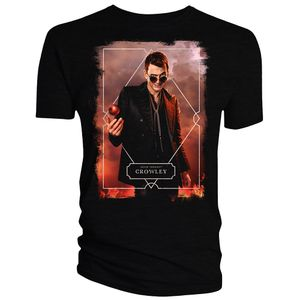 [Good Omens: T-Shirt: Crowley (Product Image)]