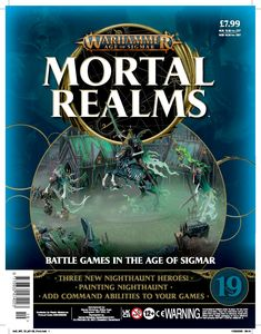[Warhammer: Age Of Sigmar: Mortal Realms #19 (Product Image)]