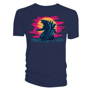 [Godzilla Vs Kong: T-Shirt: Neon Godzilla (Product Image)]