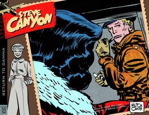 [Steve Canyon: Volume 4: 1953-1954 (Hardcover) (Product Image)]