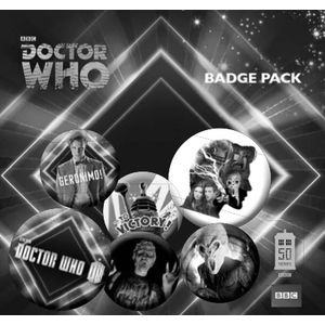 [Doctor Who: 50th Anniversary: Badge Pack: 11th Doctor (Product Image)]