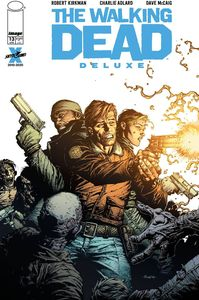 [Walking Dead: Deluxe #13 (DUK 'Thank You' Finch Foil Variant) (Product Image)]