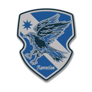[Harry Potter: Patch: Ravenclaw House Crest (Product Image)]