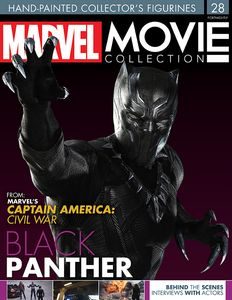 [Marvel: Movie Figure Collection Magazine #28 Black Panther (Product Image)]
