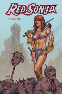 [Red Sonja #23 (Cover B Linsner) (Product Image)]