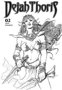[Dejah Thoris (2019) #2 (Davila Black & White Variant) (Product Image)]
