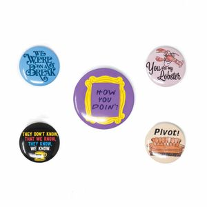 [Friends: Badges: Quotes (Product Image)]