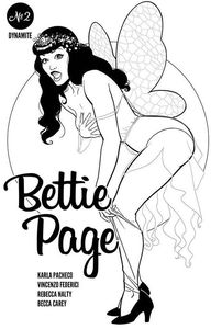 [Bettie Page #2 (Kano Black & White Variant) (Product Image)]