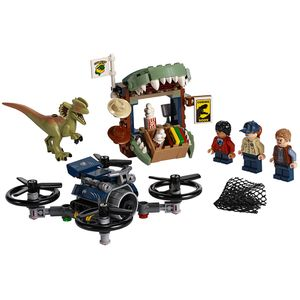 [LEGO: Jurassic World: Dilophosaurus On The Loose (Product Image)]