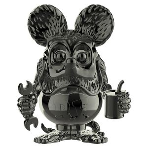 [Rat Fink Grey Chrome Pop Vinyl (2019 Summer Convention Exclusive) (Product Image)]