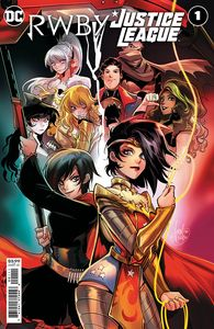 [RWBY/Justice League #1 (Cover A Mirka Andolfo) (Product Image)]
