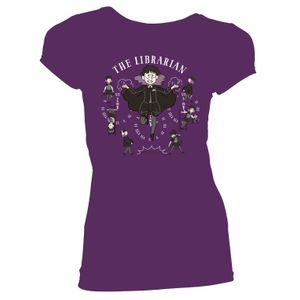 [Hilda: Women's Fit T-Shirt: The Librarian (Product Image)]