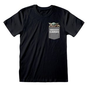 [Star Wars: The Mandalorian: T-Shirt: The Child Precious Cargo (Baby Yoda) (Product Image)]