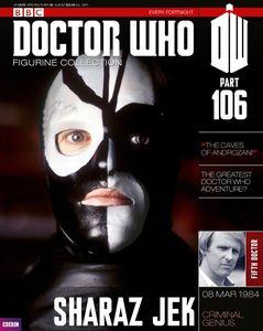[Doctor Who: Figurine Collection Magazine #106 Sharaz Jak (Product Image)]