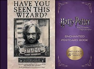[Harry Potter & The Prisoner Of Azkaban: Enchanted Postcard Book (Product Image)]