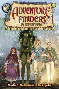 [The cover for Adventure Finders: Volume 3 #1]