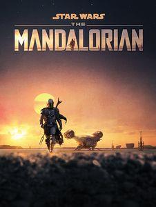 [Star Wars: The Mandalorian: 60x80 Canvas Print: Dusk (Product Image)]