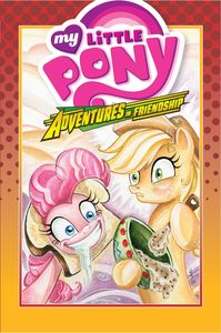 [My Little Pony: Adventures In Friendship: Volume 2 (Hardcover) (Product Image)]