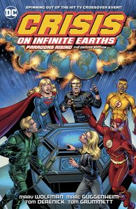 [Crisis On Infinite Earths: Paragon's Rising: Deluxe Edition (Hardcover) (Product Image)]