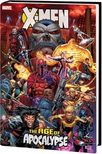 [X-Men: Age Of Apocalypse: Omnibus (Tan Cover New Printing Hardcover) (Product Image)]