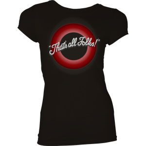 [Looney Tunes: Women's Fit T-Shirt: That's All Folks! (Product Image)]