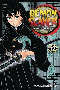 [Demon Slayer: Kimetsu No Yaiba: Volume 12 (Product Image)]