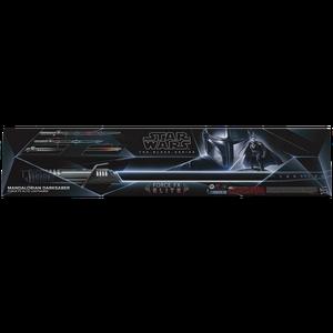 [Star Wars: The Mandalorian: Black Series Force FX Lightsaber: Darksaber (Product Image)]
