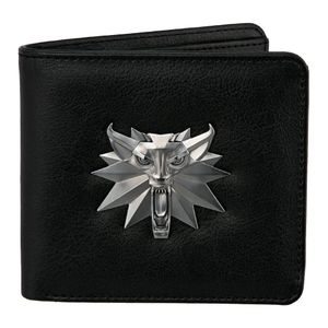 [The Witcher 3: Bi-Fold Wallet: White Wolf (Product Image)]